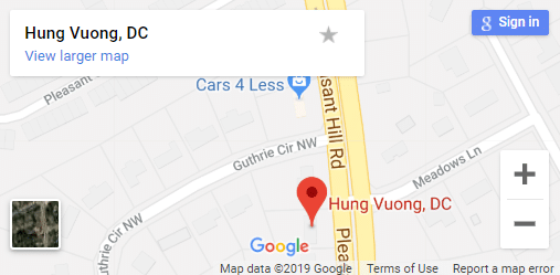 Map of Lawrenceville Chiropractors